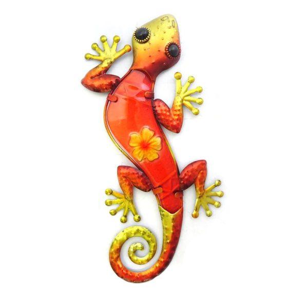 Wanddecoratie salamander bloem L