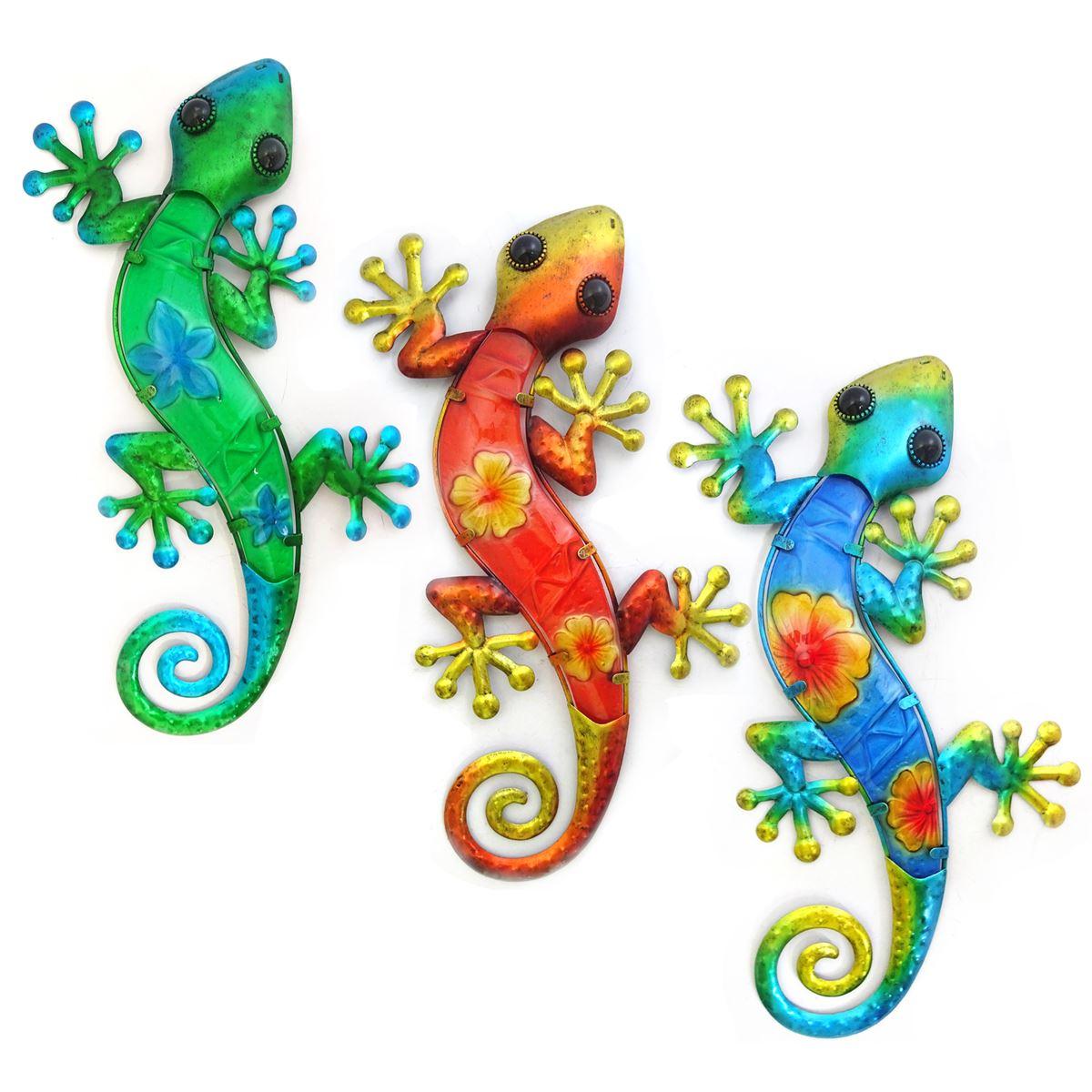 wanddecoratie salamanders XL in diverse kleuren