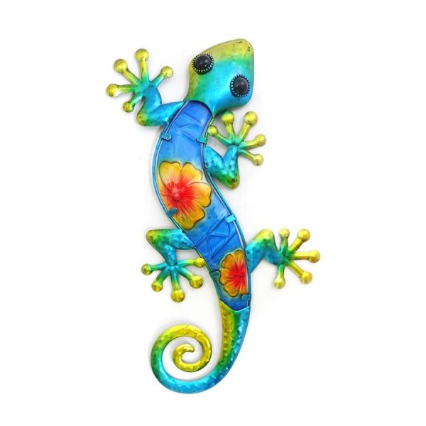 Salamander bloem XL blauw