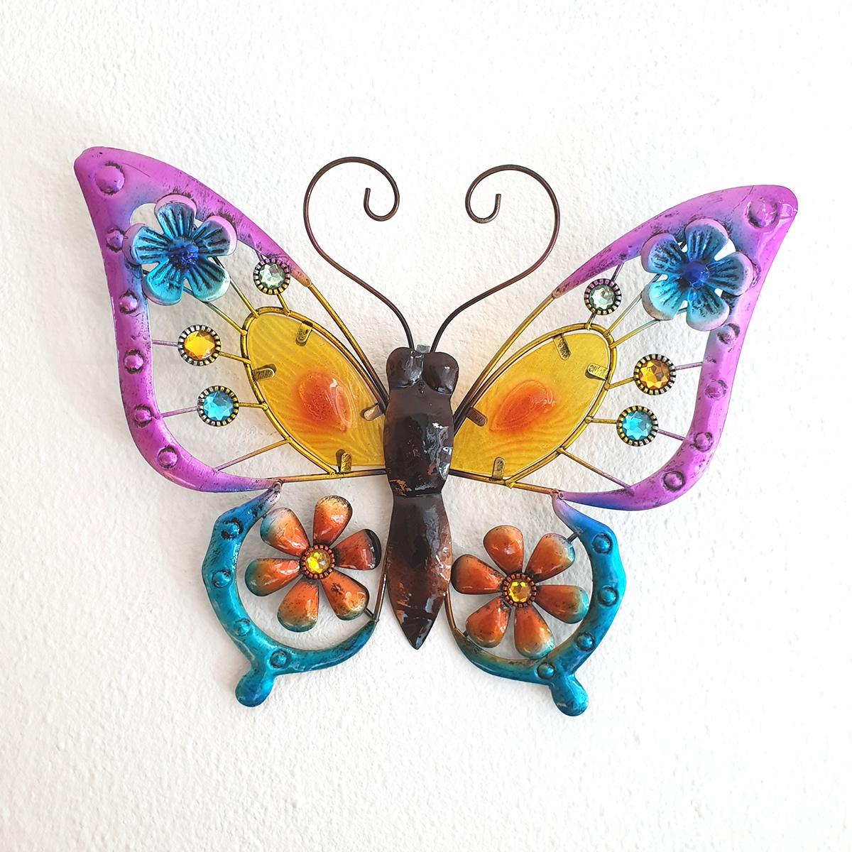 vlinder oranje l foto