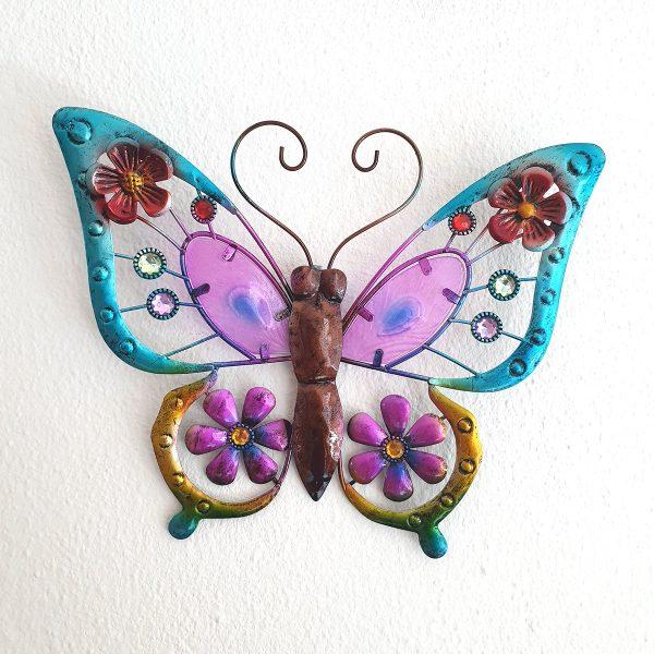 vlinder paars l foto