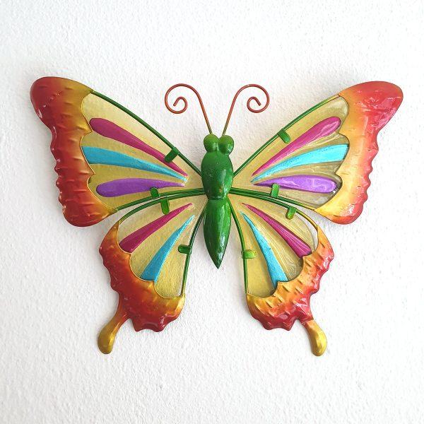 vlinder splash l rood foto