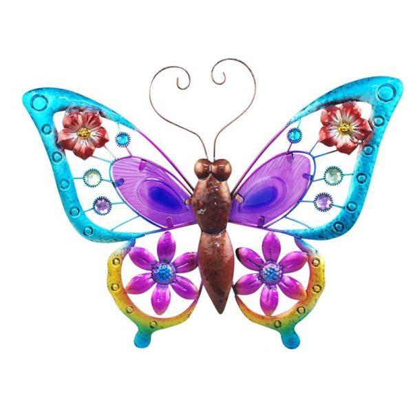Wanddecoratie vlinder groot XL