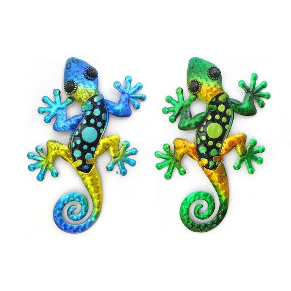 Salamander stippen s blauw groen