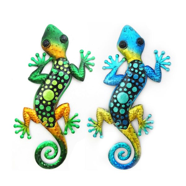 salamander stippen l blauw groen