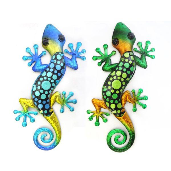 salamander stippen xl blauw groen