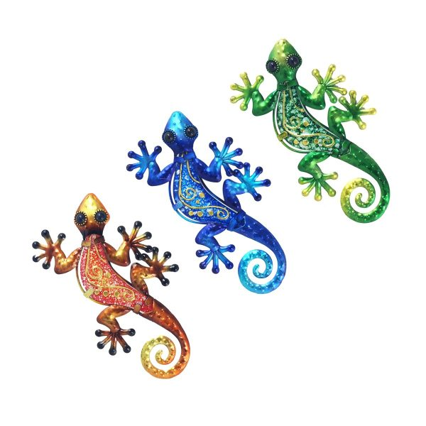salamander barok s groen blauw oranje