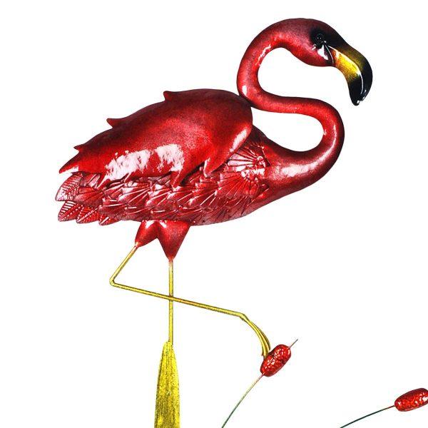 flamingo metaal XXL