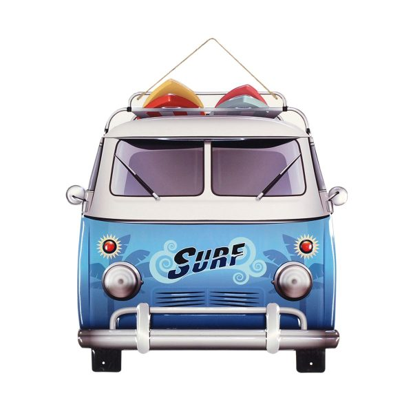 Surf camper metaal XXL