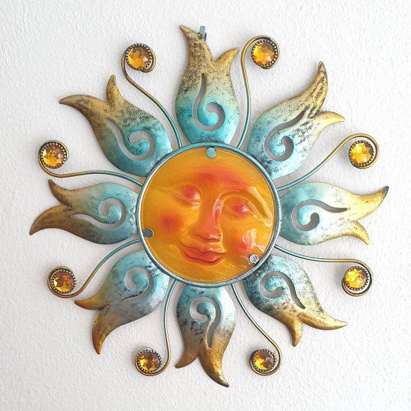 zon bloem xl blauw foto