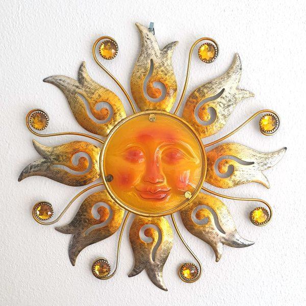 zon bloem xl oranje foto