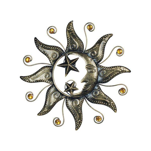 Zon maan sterren zilver