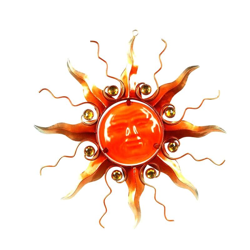 Zon straal xl oranje