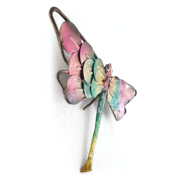 libelle metaal 20cm foto1