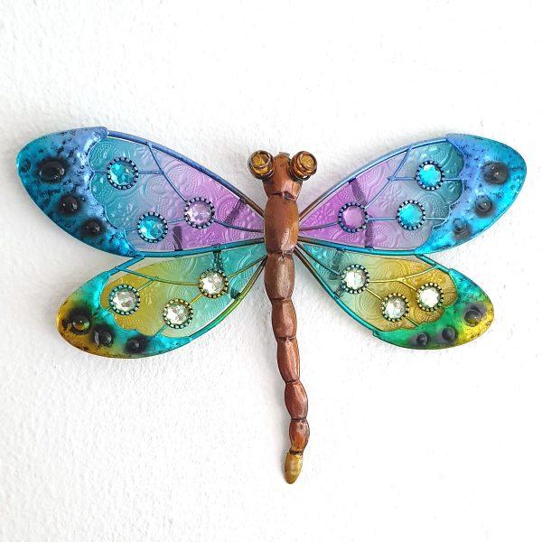 libelle oogjes blauw foto1