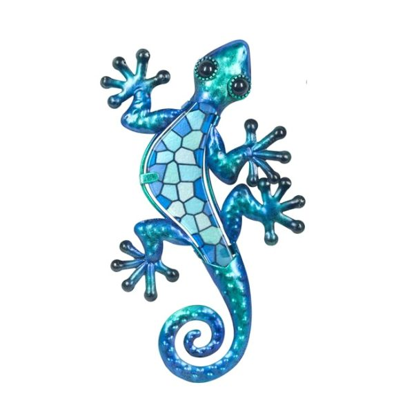 Salamander mozaiek s blauw 21x12